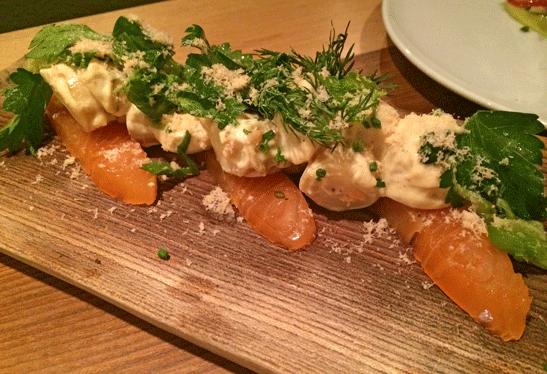 Pastaga-salmon