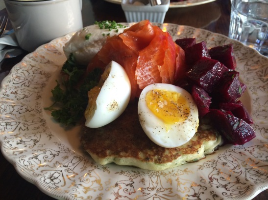 sparrow, brunch, salmon, eggs, mile end